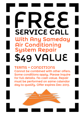 Great Dallas Air Conditioning Repair Coupons